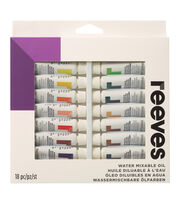 Water Mixable Oil Colour 18pk, , hi-res