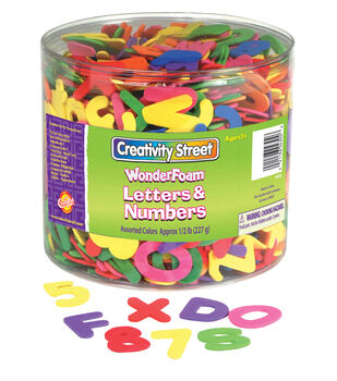 Creativity Street WonderFoam Letters & Numbers