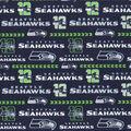 Seattle Seahawks Cotton Fabric -Glitter