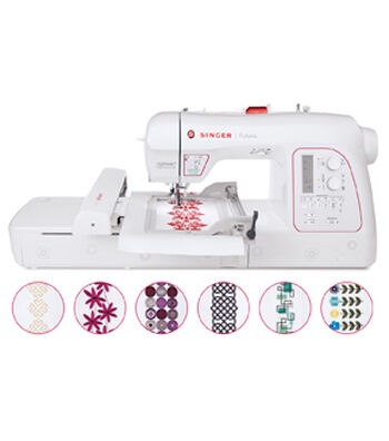 Singer® Xl-580 Futura Embroidery Machine