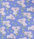 Blizzard Fleece Fabric-Sleeping Koalas