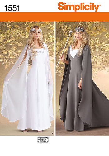 Simplicity Pattern 1551KK 8-10-12-14-Crafts Costumes