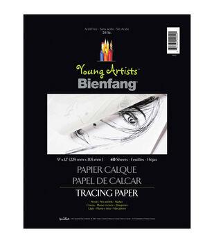 """Young Artists Bienfang Tracing Paper 9""""X12"""" 40 Sheets-24lb"""
