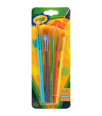 Crayola 5 ct Art & Craft Brush Set