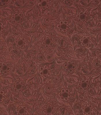"Richloom Studio Upholstery Vinyl Fabric 60""-Diviani Marinara"
