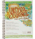 Strathmore Visual Journal Bristol Smooth 9\u0022X12\u0022-28 Sheets