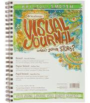 "Strathmore Visual Journal Bristol Smooth 9""X12""-28 Sheets, , hi-res"