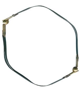Sunbelt Fasteners 12'' Internal Flex Purse Frame-Gold & Silver
