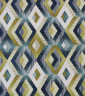 "Richloom Studio Multi-Purpose Decor Fabric 54""-Kotake Peacock"