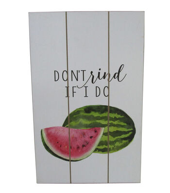 Fresh Picked Spring Wall Decor-Don't Rind if I Do