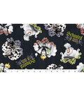 Disney Villains Halloween Cotton Fabric -Schooled In Cruel