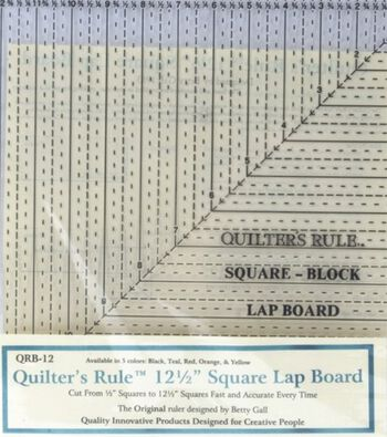 """Quilter's Square Ruler Lap Board 12"""" x 12"""""""