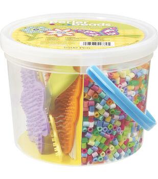 Perler Fun Fusion Fuse Bead Bucket-Sunny Days
