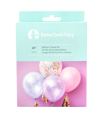 The Sweet Tooth Fairy Unicorn Party DIY Balloon Tassel Kit
