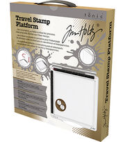 Tim Holtz 6.5''x6.5'' Travel Stamp Platform, , hi-res
