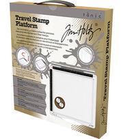 Tim Holtz 6.5''x6.5'' Travel Stamp Platform, , hi-res