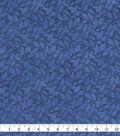Keepsake Calico Cotton Fabric-Blue Tie Dye Vines