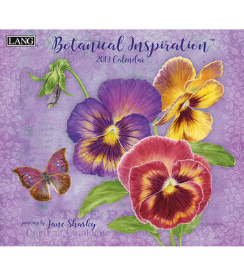Botanical Inspiration 2019 Wall Calendar