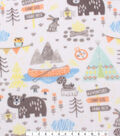 Anti-Pill Fleece Fabric 59\u0022-Camping Mix
