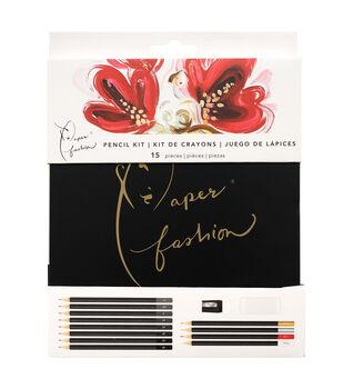 Paper Fashion Drawing Pencil Kit