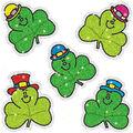 Carson Dellosa Dazzle Sticker Shamrocks, 75 Per Pack, 12 Packs
