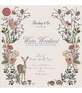 Hackney & Co. Winter Wonderland 12\u0027\u0027x12\u0027\u0027 Double-sided Paper Pad