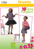 Simplicity Pattern 1764A 3-4-5-6-7--Simplicity Pattern
