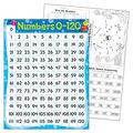 Numbers 0-120 Sea Buddies Learning Chart 17\u0022x22\u0022 6pk