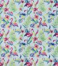 Snuggle Flannel Fabric-Watercolor Flamingo