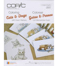 Copic Books-Coloring Cats And Dogs