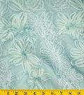 David Tutera Fabric - Embroidered Yarn Metallic Pearl Plume