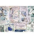 Georgia Blues Journaling Cards Pad 4\u0022X6\u0022 45/Pkg-15 Designs/3 Each