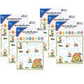 Buzz-Worthy Bees Mini Incentive Charts, 6 Per Pack