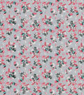 Keepsake Calico Cotton Fabric -Floral Gray