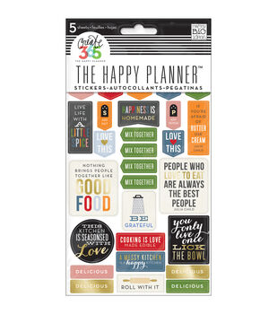 The Happy Planner Stickers 5/Sheets -Good Food
