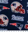 New England Patriots Fleece Fabric 58\u0027\u0027-Logo
