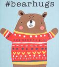 No-Sew Throw Fleece Fabric 48\u0022-Bear Hugs