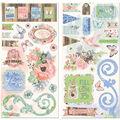 Butterfly Kisses Chipboard Stickers 6\u0027\u0027X12\u0027\u0027