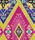 Home Decor 8\u0022x8\u0022 Fabric Swatch-IMAN Home Ikat Diamond Jewel
