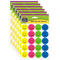 Teacher Created Resources Happy Face Stickers Valu-Pak 26 Packs
