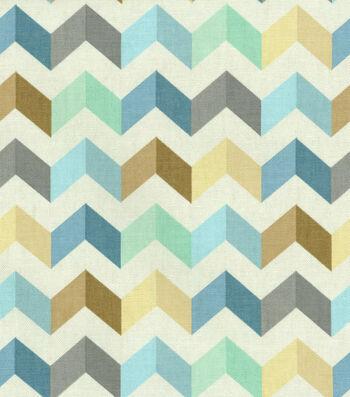 "Waverly Multi-Purpose Decor Fabric 54""-Tip Top Ethereal"