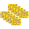 Smart Poly Numbered Game Board Chart, Dry-Erase, 13\u0022 x 19\u0022, Pack of 10