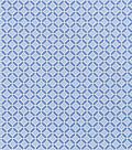 Bottomweights Stretch Twill Fabric 57\u0027\u0027-Blue Geometric