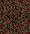 Home Decor 8\u0022x8\u0022 Fabric Swatch-Jaclyn Smith Clarinet Berry