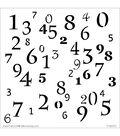 Crafter\u0027s Workshop Templates 6\u0022X6\u0022-Numerals