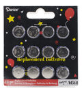 Darice AG13 Replacement Batteries For Tea Lights