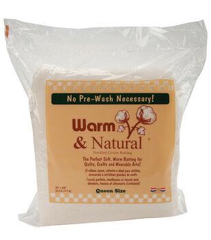 The Warm Company Warm & Natural Cotton Batting 90''x108''