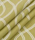 Robert Allen @ Home Lightweight Decor Fabric 55\u0022-Helix Ogee Lemongrass