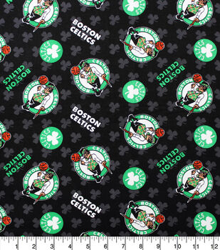 Boston Celtics Cotton Fabric