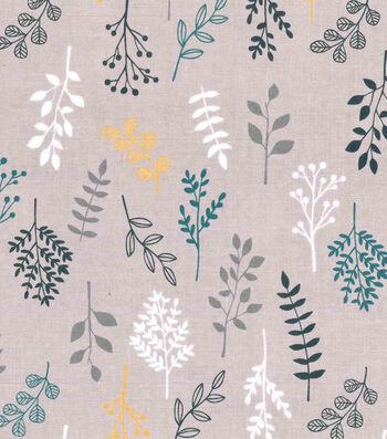 "Premium Cotton Fabric 44""-Falling Branches"